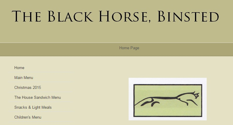 Black Horse Pub Binsted