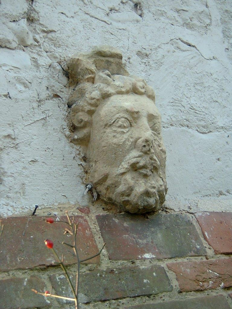 Roman head Binsted